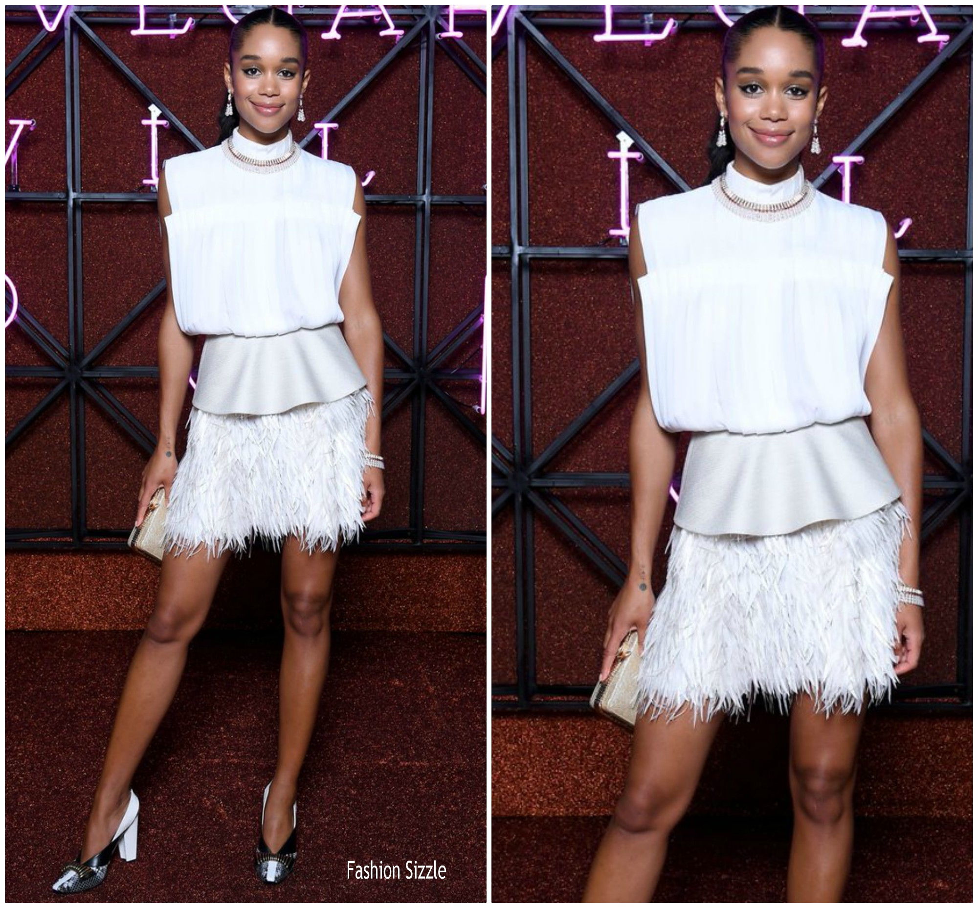 laura-harrier-in-louis-vuitton-bvlgari-dinner-party