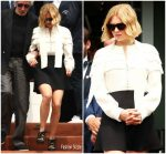Lea Seydoux In Louis Vuitton  @ Roland Garros
