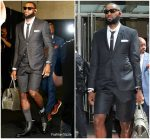 LeBron James In Thome Browne @   NBA Finals Cavs vs Warriors Game 1