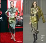 Leslie Bibb in Temperley London @ 'Tag' LA Premiere
