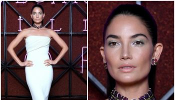lily-aldridge-in-brandon-maxwell-bvlgari-dinner-party
