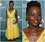 Lupita Nyong'o  In Carolina Herrera  @  2018 ACE Awards