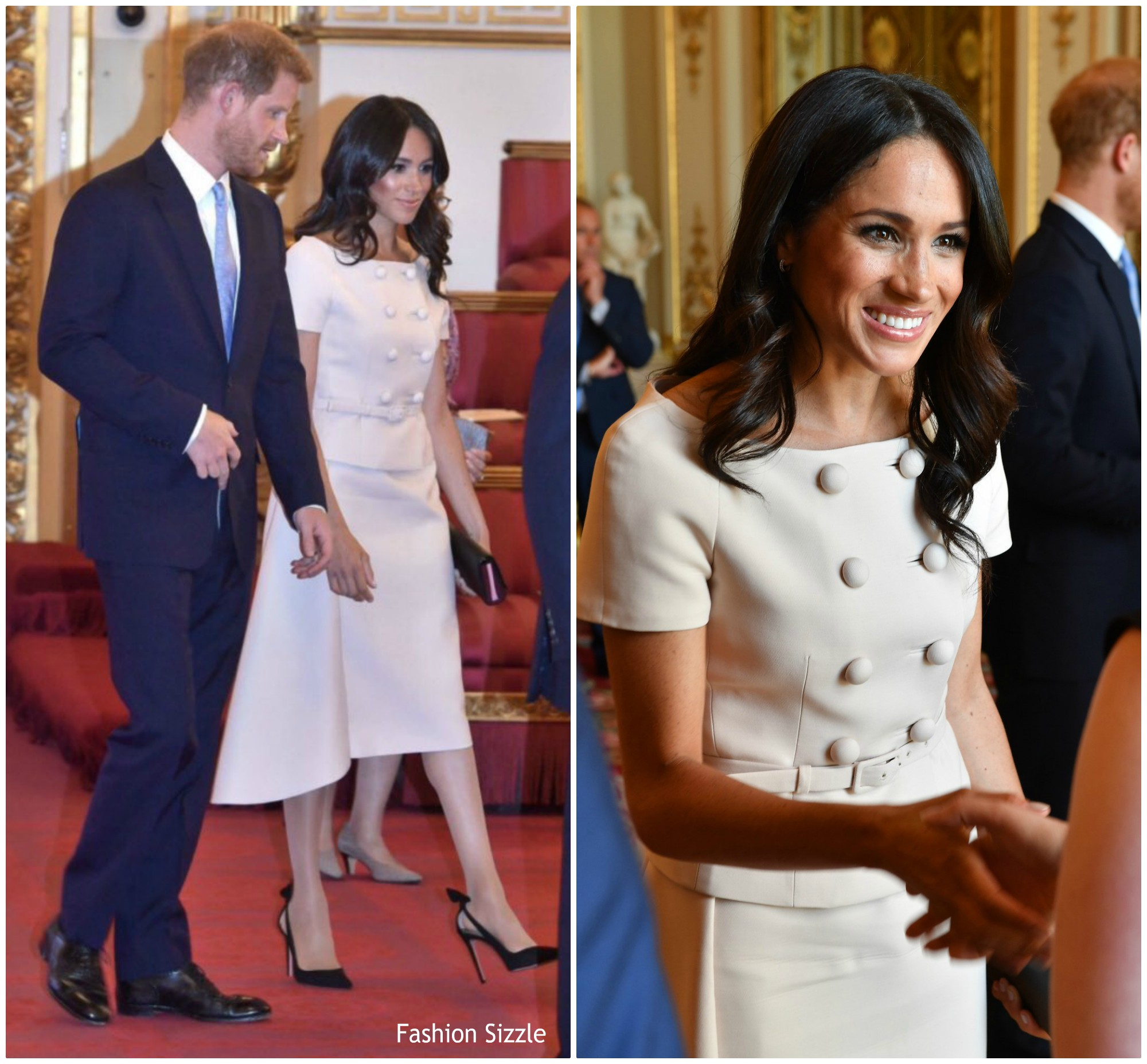 Meghan, Duchess Of Sussex In Prada @ Young Leaders Awards