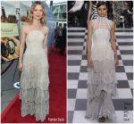 Mia Wasikowska In Christian Dior Haute Couture  @ 'Damsel' LA Premiere