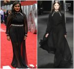 Mindy Kaling In Alberta Ferretti  @ 'Ocean's 8' London Premiere