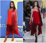 Naomi Campbell in Calvin Klein @  2018 CFDA Fashion Awards