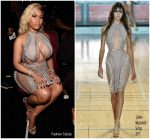 Nicki Minaj  In Julien Macdonald @  2018 BET Awards