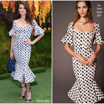 penelope-cruz-in-zac-posen-11th-annual-veuve-clicquot-polo-classic
