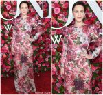 Rachel Brosnahan In Dolce & Gabbana  @ 2018 Tony Awards