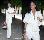 Rihanna in Louis Vuitton @ Louis Vuitton Menswear Spring/Summer 2019 Show