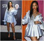 Rihanna  In Matthew Adams Dolan  @ Stance x Clara Lionel Foundation Event