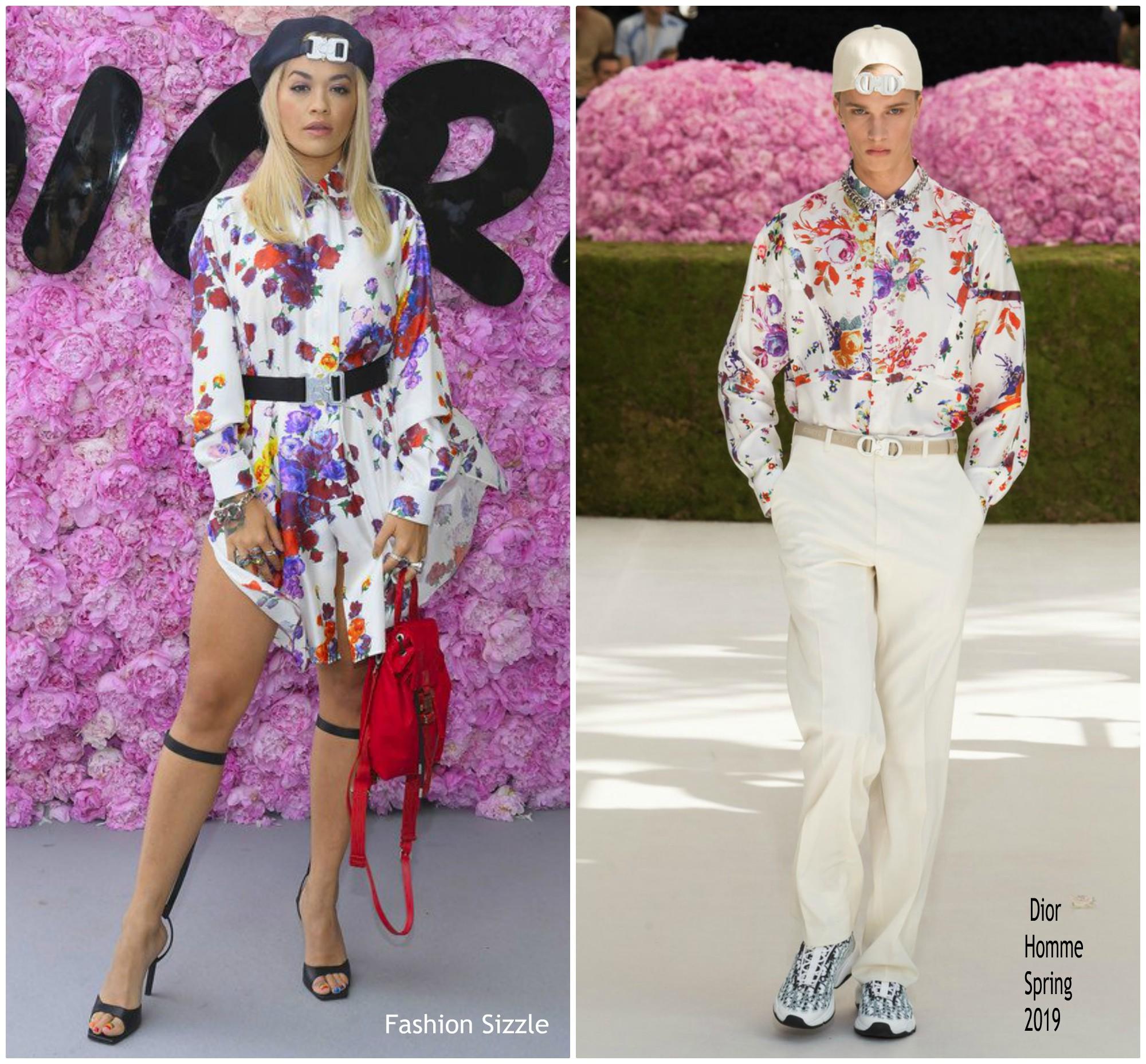 rita-ora-in-dior-homme-dior-homme-spring-summer-2019-menswear-show