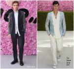Robert Pattinson  In Dior Homme @ Dior Homme Spring/Summer 2019 Menswear Show