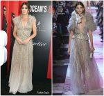 Sandra Bullock in Elie Saab Couture  @ 'Ocean's 8' New York Premiere