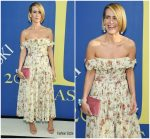 Sarah Paulson In Brock Collection @ 2018 CFDA Fashion Awards