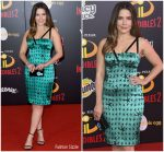 Sophia Bush In  Vintage Versace @  Incredibles 2  LA Premiere