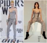 Sylvia Hoeks in Carmen March @ 'The Girl in the Spider's Web' Barcelona Photocall
