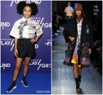Yara Shahidi in Prada @ POPSUGAR Play/Ground