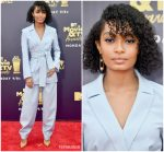 Yara Shahidi  In Tory Burch @ 2018 MTV Movie & TV Awards