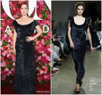 Zoey Deutch In Brock Collection  @ 2018 Tony Awards