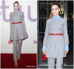 Zoey Deutch In Valentino  @ Netflix's 'Set It Up' New York Screening