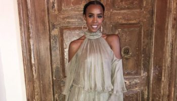 Kelly-Rowland-In-Maria-Lucia-Hohan-Tank-and-Zena-Fosters-Wedding