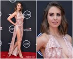 Alison Brie In Vivienne Westwood Couture  @ 2018 ESPYS