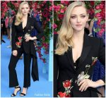 Amanda Seyfried In Alexander McQueen  @ Mamma Mia! Here We Go Again' World Premiere