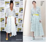 Amandla Stenberg In BY. Bonnie Young  @ Comic-Con 2018: 'Entertainment Weekly Women Who Kick Ass' Panel