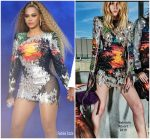 Beyonce Knowles In Balmain  @ 'On The Run II' Tour Cologne