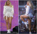 Beyonce Knowles In  Balmain  @ 'On The Run II' Tour Paris
