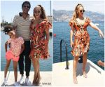 Beyonce Knowles In Temperley London   Out  Sailing In Cannes