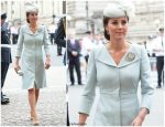 Catherine, Duchess of Cambridge In Alexander McQueen  @ RAF Centenary