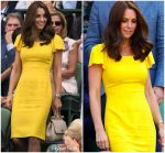 Catherine, Duchess of Cambridge In Dolce & Gabbana  @ Wimbledon Championships Men's Final