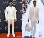 Chadwick Boseman In Louis Vuitton  @ 2018 ESPYS