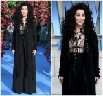 Cher in Ann Demeulemeester @ 'Mamma Mia! Here We Go Again' London Premiere