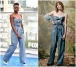 Danai Gurira In Rodarte  @ Comic-Con 2018: 'The Walking Dead' Photocall