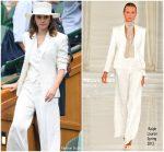 Emma Watson In Ralph Lauren  @ Wimbledon Championships