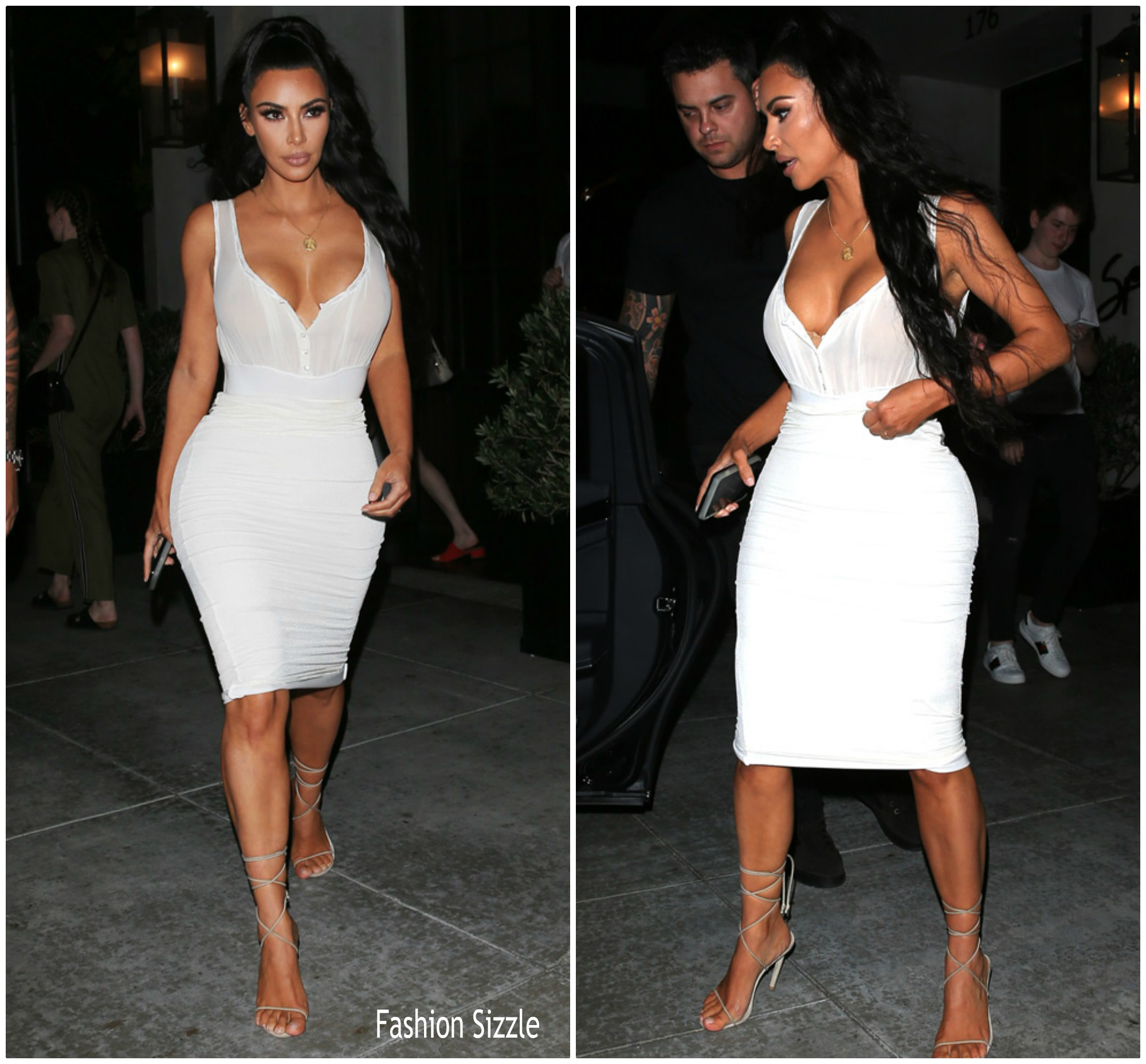 kim-kardahian-in-dolce-gabanna-spago-restaurent-in-los-angeles