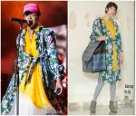Lauryn Hill  In  Balenciaga During  Her 20th Anniversary Tour