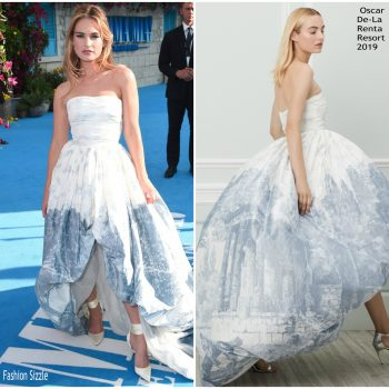 lily-james-in-oscar-de-la-renta-mamma-mia-here-we-go-again-world-premiere