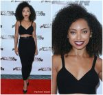 Logan Browning  In Michael Kors  Collection @  Hit The Floor  Season 4 LA Premiere