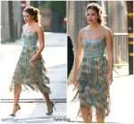 Mandy Moore In Missoni  @ Jimmy Kimmel Live