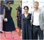 Meghan, Duchess of Sussex In Carolina Herrera  @ Sentebale Polo 2018