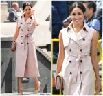 Meghan, Duchess of Sussex In Nonie  @ The Nelson Mandela Centenary Exhibition