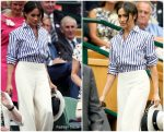 Meghan, Duchess of Sussex In Ralph Lauren  @ Wimbledon Championships