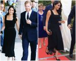 Meghan Markle In   Emilia Wickstead @ British Ambassadors Residence In Dublin
