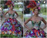 Naomi Campbell  @ Dolce & Gabbana Alta Moda Fashion Show In  Italy