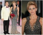 Princess Charlene of Monaco In Atelier Versace  @ 70th Monaco Red Cross Ball Gala