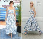 Selena Gomez in Oscar de la Renta @ 'Hotel Transylvania 3: Summer Vacation' LA Premiere